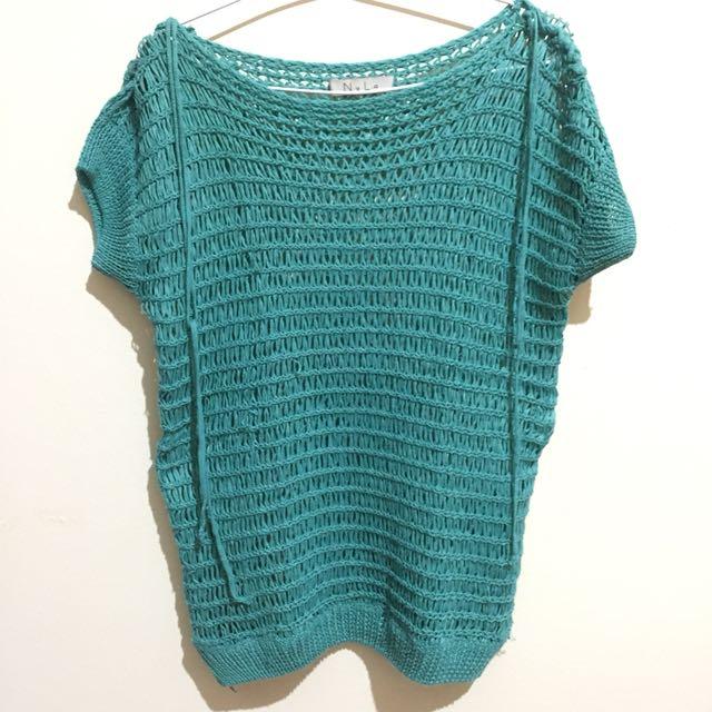 N.y.L.a Teal Knitwear