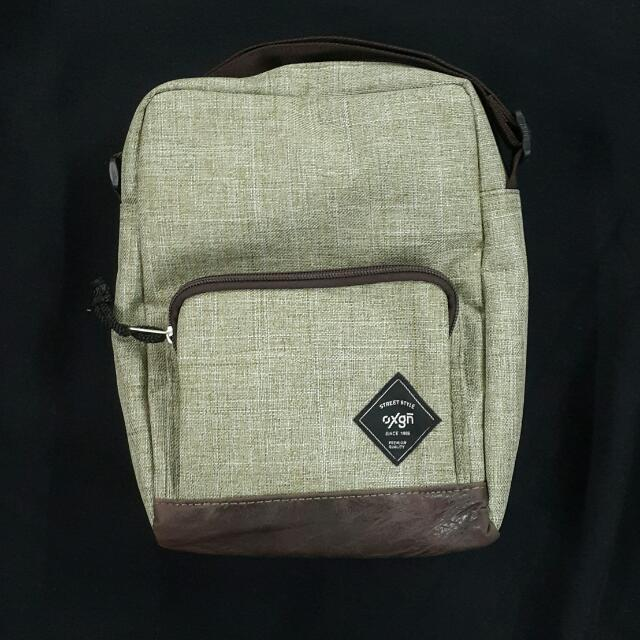 Original And Brand New Men's Sling Bag (Oxygen)