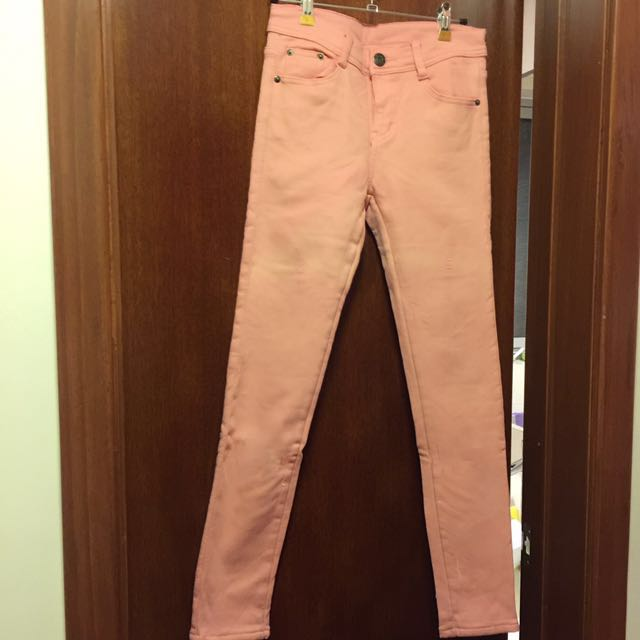 Pink Cutie Fleece Warm Pants Trousers