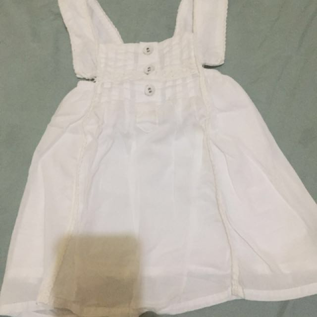 pl gingersnap white dress !!SALE