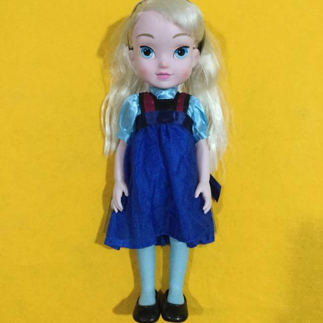 "❄️Preloved Disney Frozen 15"" Elsa Toddler Doll❄️"