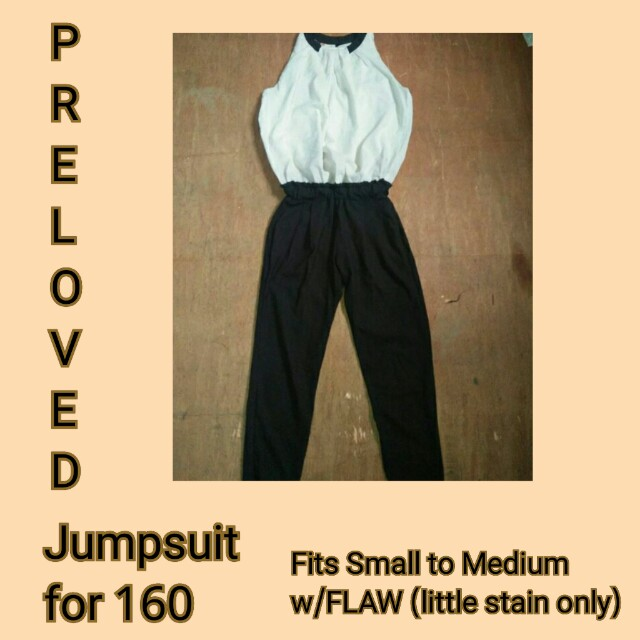 3f7607bf3284 Preloved Jumpsuit