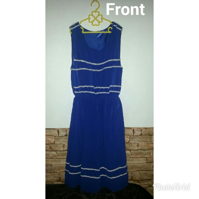 PreLoved Dress in Royal Blue