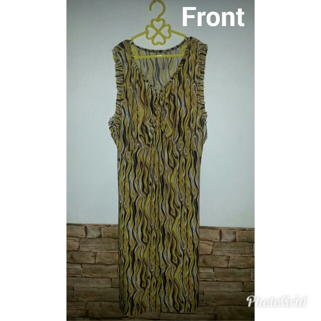 PreLoved Dress in yellow
