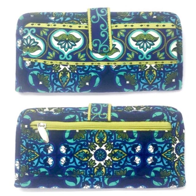 Quilted pattern wallets