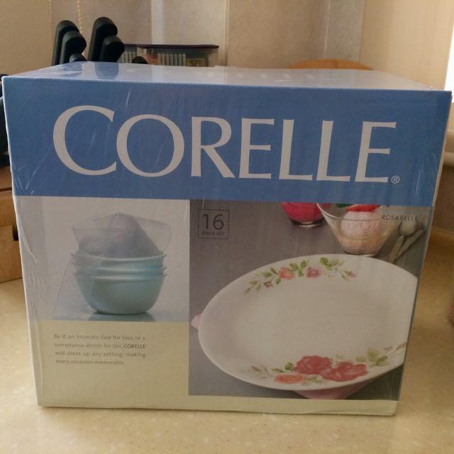 ✈️RELOCATION SALE: Corelle Rosabelle 16pc Set