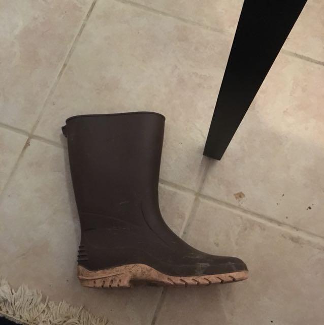 Rubber boots Sz 10