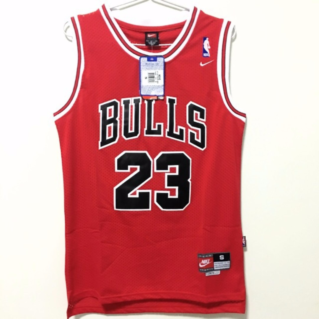 90ced46dc30 ... aliexpress s chicago bulls 23 michael jordan basketball nba jersey red  sports sports apparel on carousell