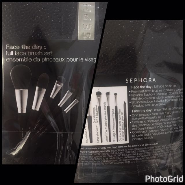 Sale‼️ Sephora Face The Day Brush Set