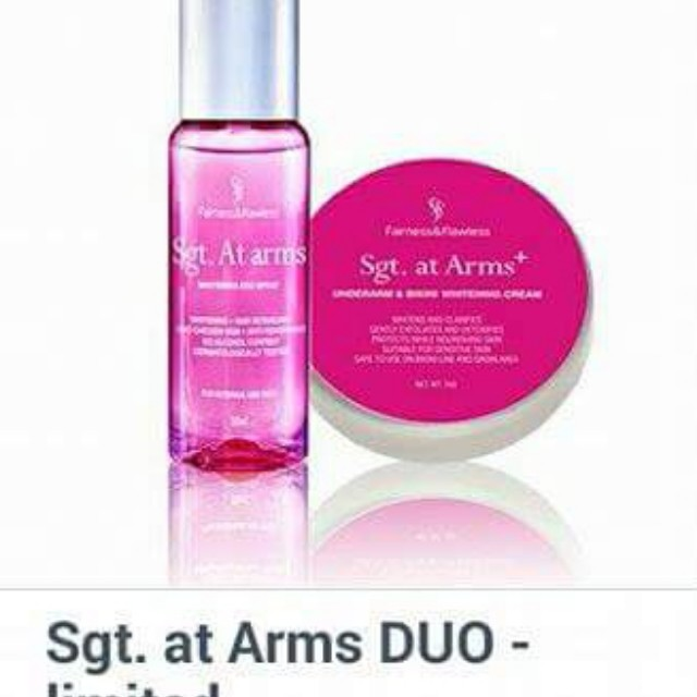 Sgt. At Arms whitening duo
