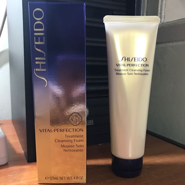 SHISEIDO VITAL PERFECTION TREATMENT CLEANSING FOAM