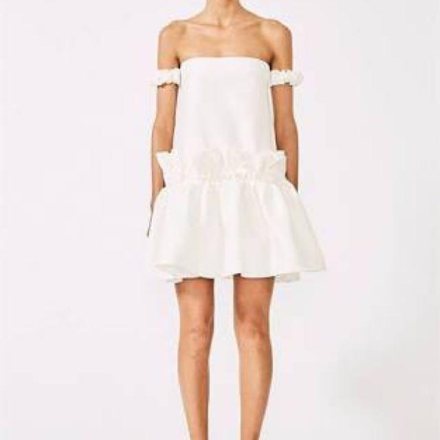 Shona Joy Didier Off Shoulder Dress