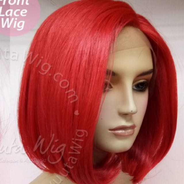 Short wig (RED)