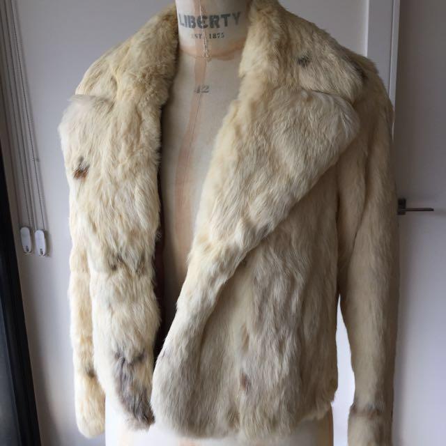 Size Small Genuine Fur Coat