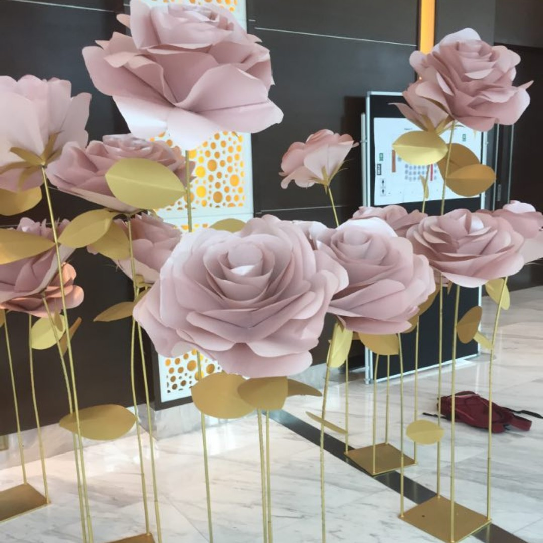 Standing Paper Flowers