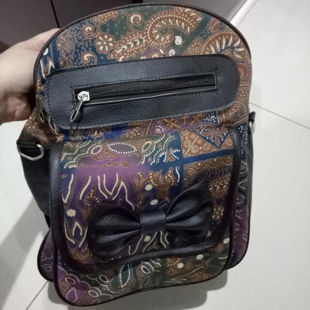 TAS BATIK Backpack