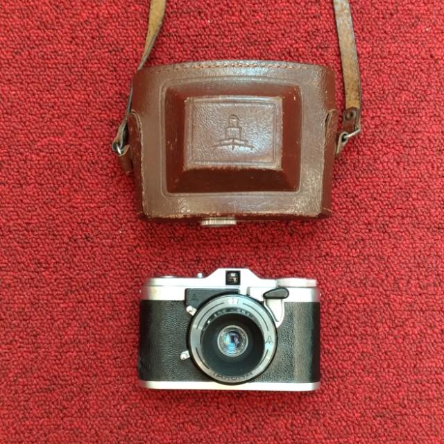 Taxona 方格底片相機(24*24) 用135底片 估焦相機 招財貓 復古相機