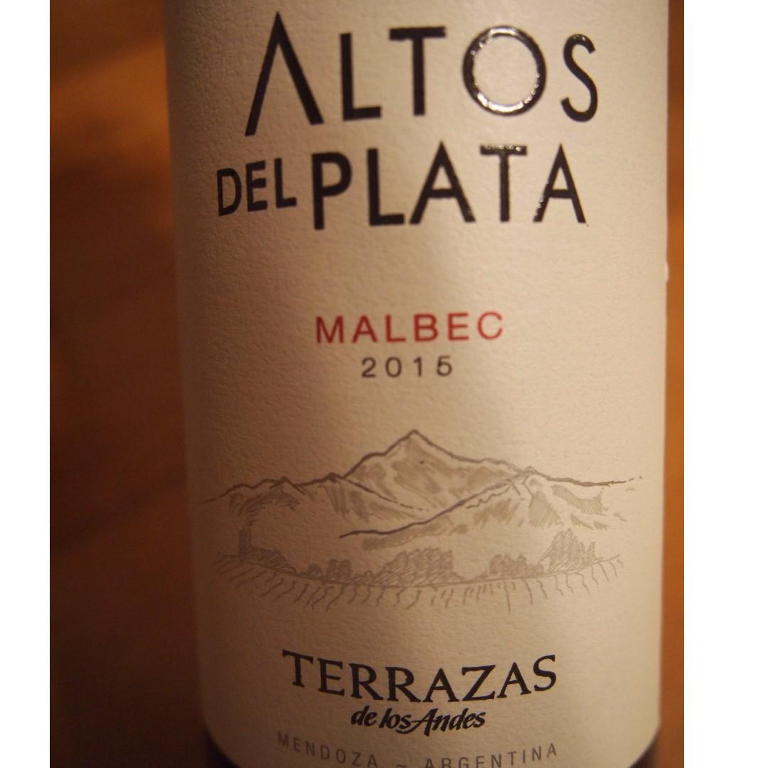 Terrazas De Los Andes Altos Del Plata Malbec
