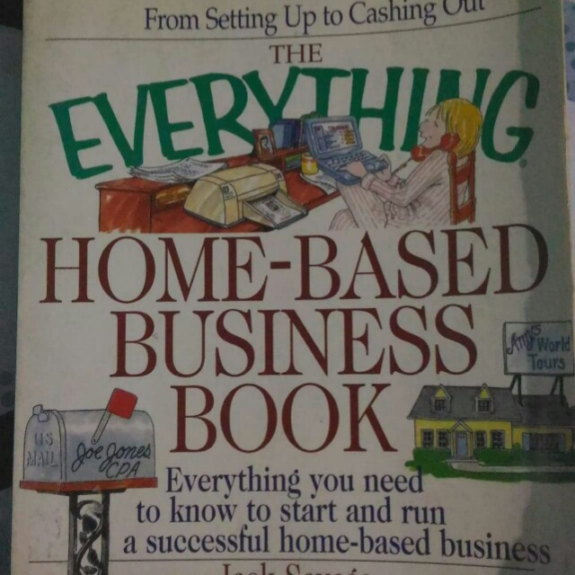 The Everything Home-Based Business Book