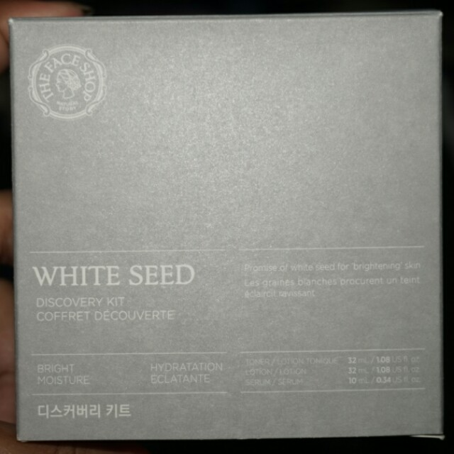 The Face Shop White Seed Discovery Kit