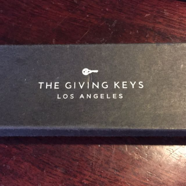 The Giving Keys Necklace - HOPE