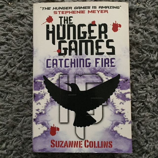 """THE HUNGER GAMES: CATCHING FIRE"" - Suzanne Collins"