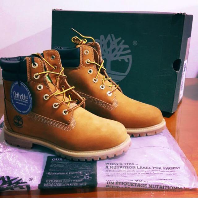 美國帶回🇺🇸全新Timberland 經典女雪靴