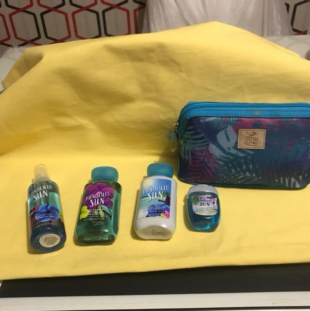Travel size bbw + pouch