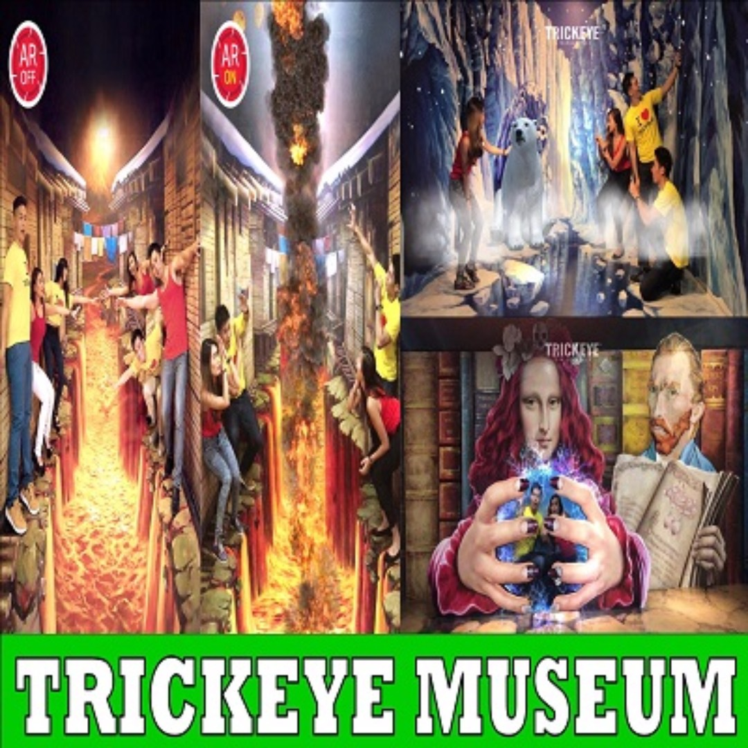 Trickeye Museum Entertainment Attractions On Carousell Tiket Singapore Photo
