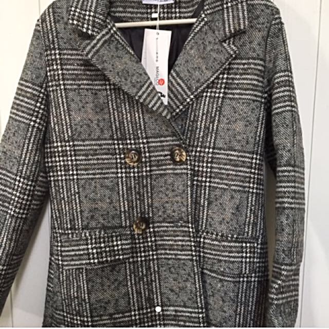 Tweed Coat/Jacket/Outerwear