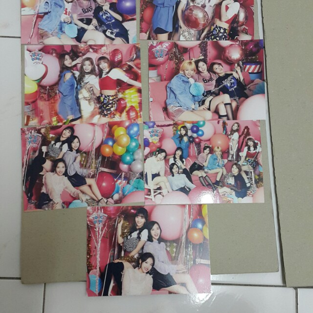 Twice japan showcase postcard