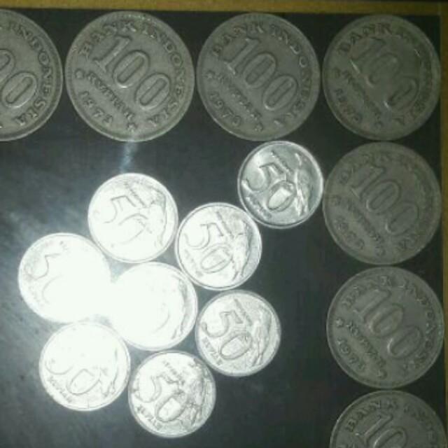 uang kuno koin