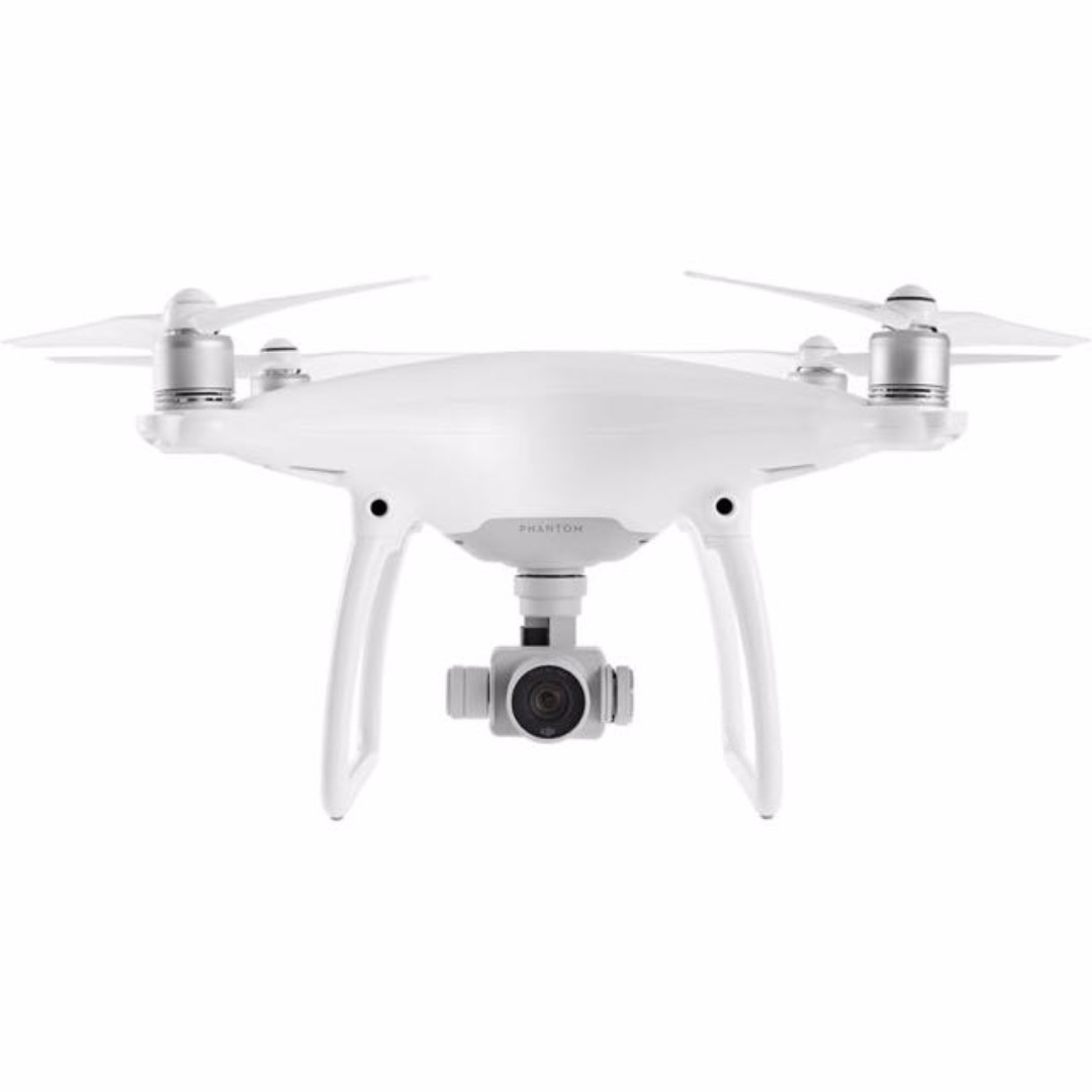 [Used] Phantom 4 Drone With 3 Batteries and Charging Hub