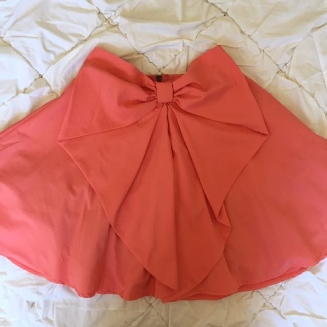 Valleygirl Bow Skirt