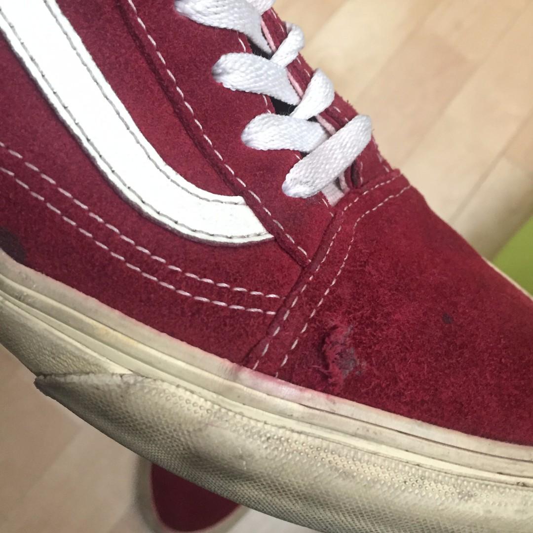 7779734d6a Vans Oldskool Vintage Rio Red size 10.5 44