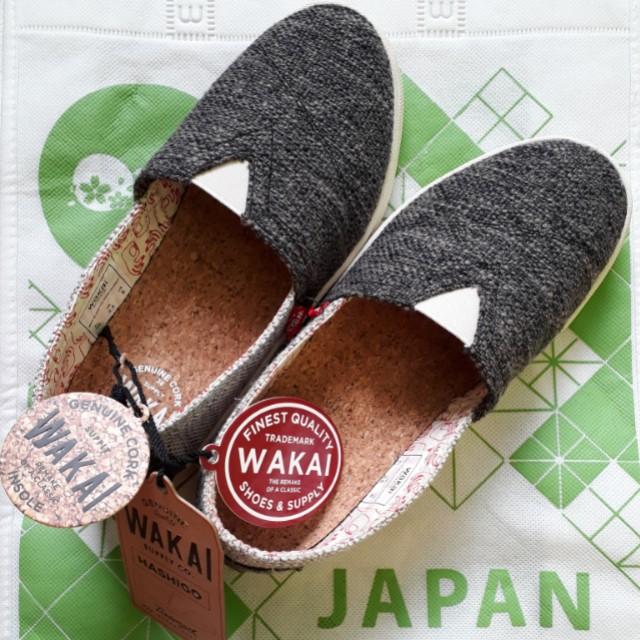 WAKAI Hashigo Black-White Knit