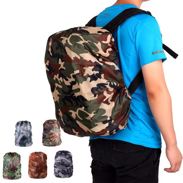 Water/Dustproof Camouflage Bag Cover