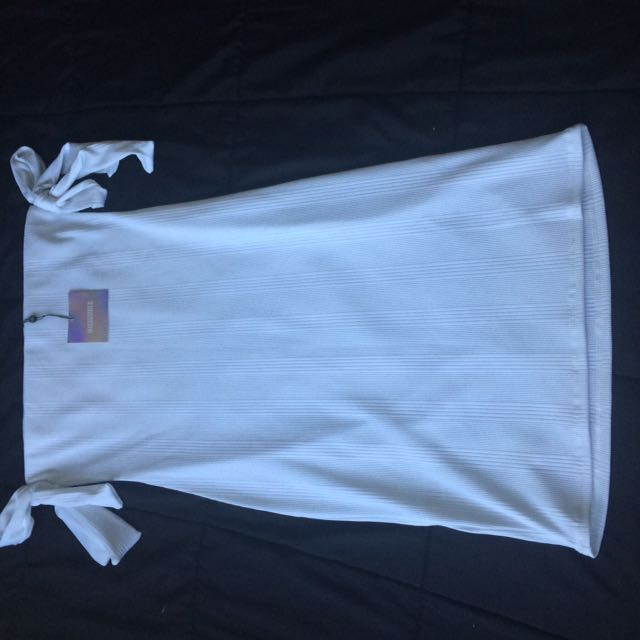 White Midi Dress size 12