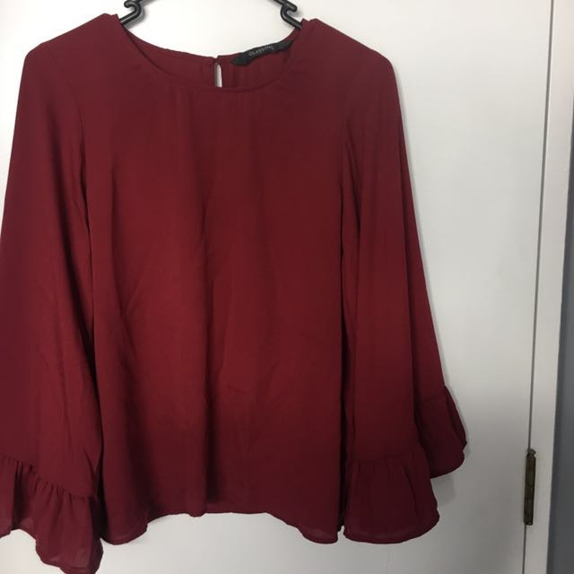 Wide Sleeve Glassons Top
