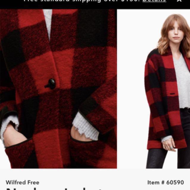 Wilfred Neelam jacket- Aritzia