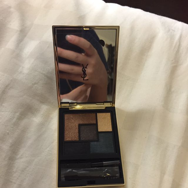 YSL: exclusive animal palette 2016