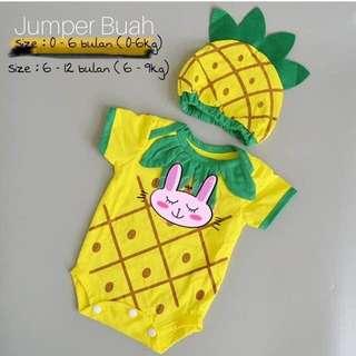 Jumper Nanas / jumpsuit lucu