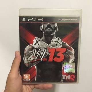 PS3 GAME - WWE '13