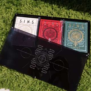 SINS Playing Cards Ultimate Case Collector Set