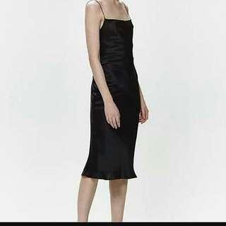 BLACK Hansen And Gretel Silk Dress