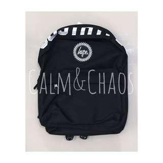 🎉現貨 Hype Black Banner Backpack 英國hype 後背包 英國直送 保證真品 新款 英國代購