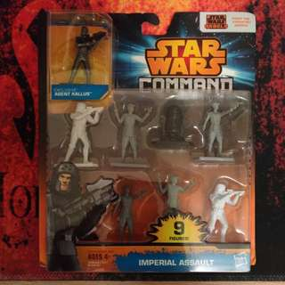 Star Wars Command Imperial Assault with Exclusive! Agent Kallus