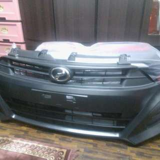 SECOND HAND FRONT BAMPER AXIA G SPEC 2016
