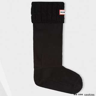 Hunter Black Boot Socks Size 5-7