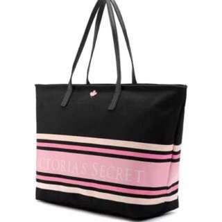 正版Victoria's Secret維多利亞的秘密 楓葉帆布包